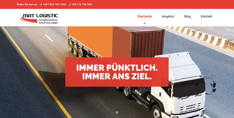 Niemiecka spółka Mat Logistic