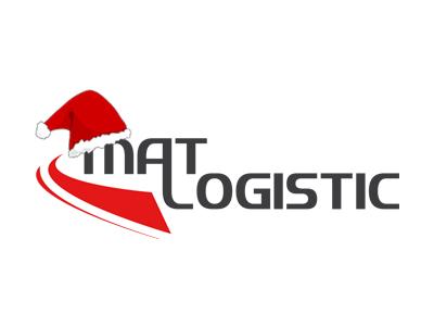 świąteczne logo Mat Logistic