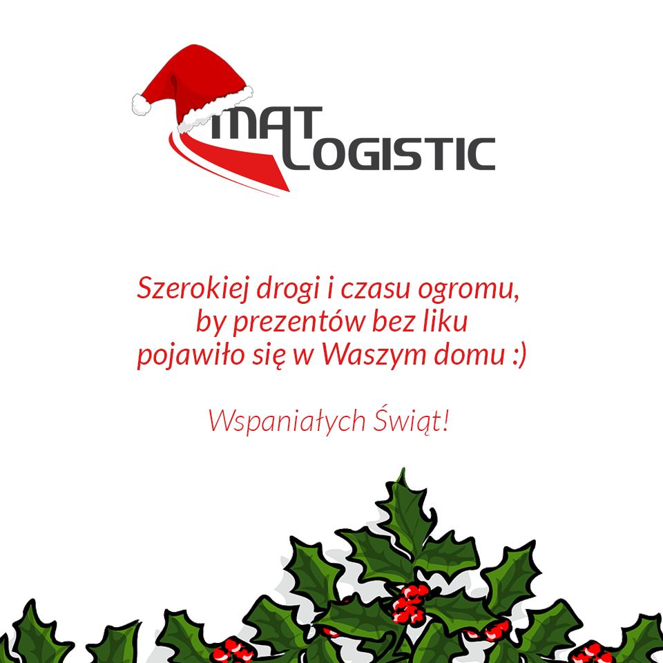 życzenia od Mat Logistic